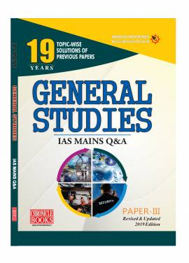 GENERAL STUDIES PAPER - III IAS Mains Q&A 2019
