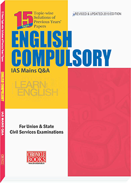 ENGLISH COMPULSORY IAS MAINS Q&A 2019